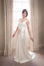 satin bias sample sale couture silk satin bias cut wedding gown dress silk