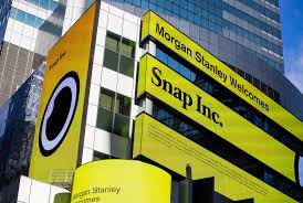morgan stanley is biggest wall street winner in snap ipo wsj