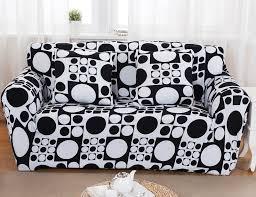 Printed Sofa Slipcovers Black And White Sofa Slipcovers Aecagra Org