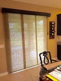 Patio Door Vertical Blinds Vertical Blind Alternatives Vignettes And Alternative