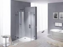 modern bathroom decorating with beautiful bathtub and space saving