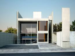 concrete homes curbed image with stunning modern glass and