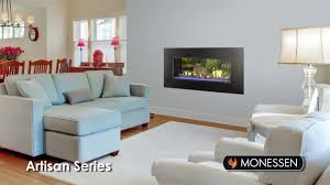 monessen artisan series vent free gas fireplace youtube