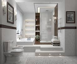 modern bathrooms designs characteristic of contemporary bathrooms
