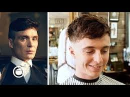 tommy shelby haircut cillian murphy peaky blinders haircut thesalonguy youtube
