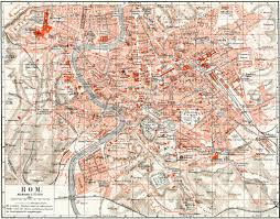 Map Rome Map Of Rome Publication Of The Book
