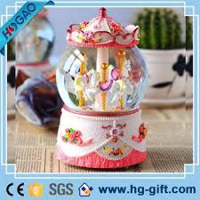 wholesale wedding favors wholesale wedding favors glass cheap resin carousel snow