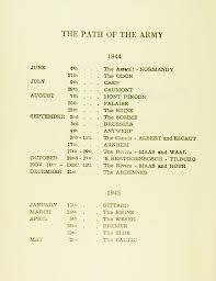 oliver perks wartime timeline