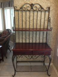 Small Bakers Rack With Drawers Rasmus Auctioneers