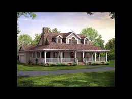 Country Style Home Plans With Wrap Around Porches Wrap Around Porch Homes Country Style Home Styles