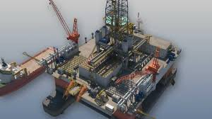 oil and gas 3d animation drilling rig youtube