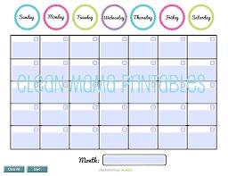 calendars teacher calendar template fillable monthly calendar template