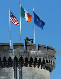 Flag Of Ireland President Bush Visit To Ireland Pictures Getty Images