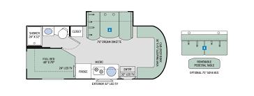 Sprinter 5th Wheel Floor Plans Class C Motorhome Thor Motor Coach