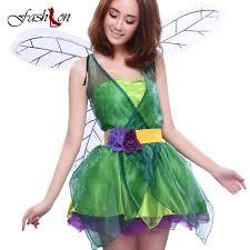 Green Fairy Halloween Costume Aliexpress Buy Halloween Costume Women Cosplay Dresses