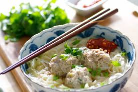 Cold Dinner Asian Meatball Noodle Soup Tasty Ever After All Natural Real