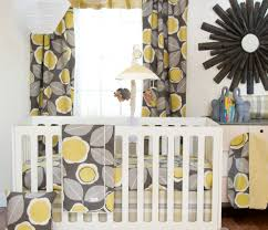 Yellow Curtains Nursery by Interior Black Yellow And Gray Shower Curtain In Gray Painted