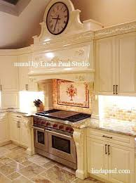 kitchen mural backsplash country kitchen tile backsplash ideas pictures murals subscribed