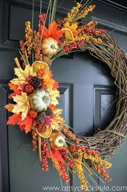 thanksgiving reefs fall and wreaths