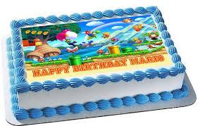 mario cake mario luigi 1 edible cake topper cupcake toppers edible