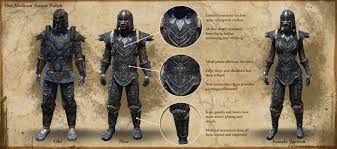 elder scrolls online light armor sets the elder scrolls online reveals new orc and redguard armor for update 6