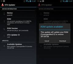 center android ota update center encourages pc free upgrades for custom android roms