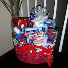 filled easter baskets boys pre filled easter basket gift marvel marvelcomics