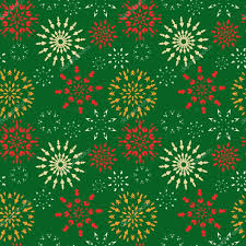 christmas pattern red green christmas seamless pattern red orange white snowflakes on green