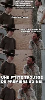 Rick And Carl Meme - infirmière mdr pinterest humour walking dead and meme