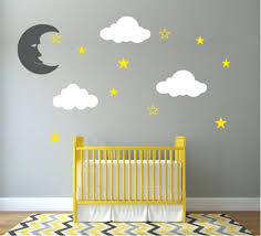 Wall Nursery Decals Wall Nursery Decals Gold Cloud Wall Decal Stickers White Cloud