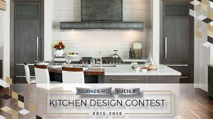 Wolf Kitchen Design The 2015 2016 Sub Zero And Wolf Kitchen Design Contest Is