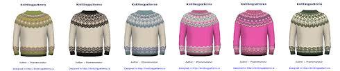 knittingpatterns is development of sweater design software so