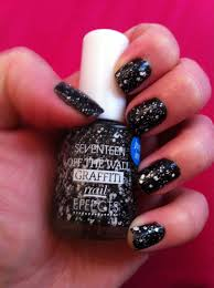 Wall Nails by Seventeen Off The Wall Graffiti Nail Effects Glittergirlie