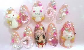 japanese anime nail art punipunijapan