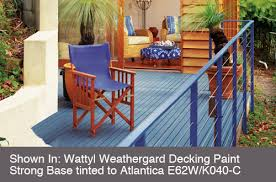 exterior woodcare decks