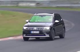 volkswagen touareg 2017 black volkswagen tiguan r performance variant confirmed prototype