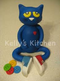 cat cake topper pete the cat cake topper cake by cakesdecor