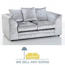 Grey Silver Sofa Michigan Crushed Velvet Sofa Silver Grey 2 Seater 1 Copy Jpg