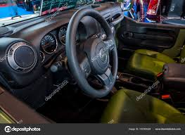 classic jeep interior interior of a compact suv jeep wrangler us army 2017 u2013 stock