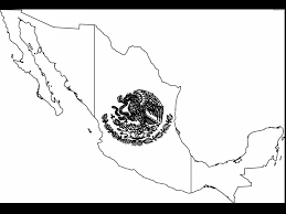 spectacular black and white mexican flag with mexico flag coloring