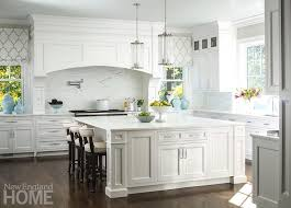 white kitchens with islands large white kitchen island with robert abbey cole light pendant