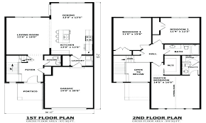 modern 2 story house plans 2 story modern house plans lovely idea 2 storey house plans with