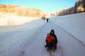 sledding with kids near zurich moms tots zurich