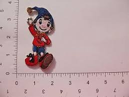 embroidered disney noddy 267 iron on sew on patch party bag ebay