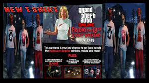 gta 5 friday the 13th event online slasher 4 part 1 new