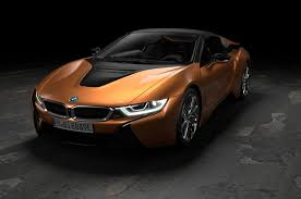 bmw i8 gold 2019 bmw i8 roadster updated i8 coupe debut in l a motor trend