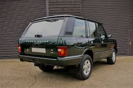 classic range rover used land rover range rover classic 3 9 v8 automatic swb special