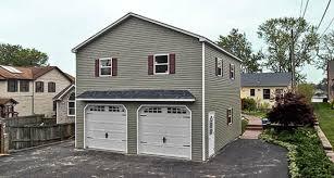 garage prefabricated two story garage prefab garage with apartment horizon structures