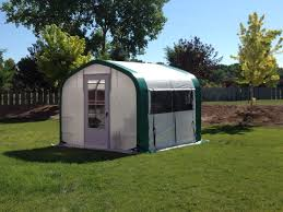 Backyard Green House by Fabric Greenhouses Backyard U0026 Temporary Weatherport