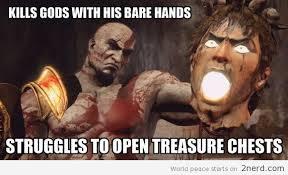 Memes About God - god of war logic2 nerd 2 nerd2 nerd
